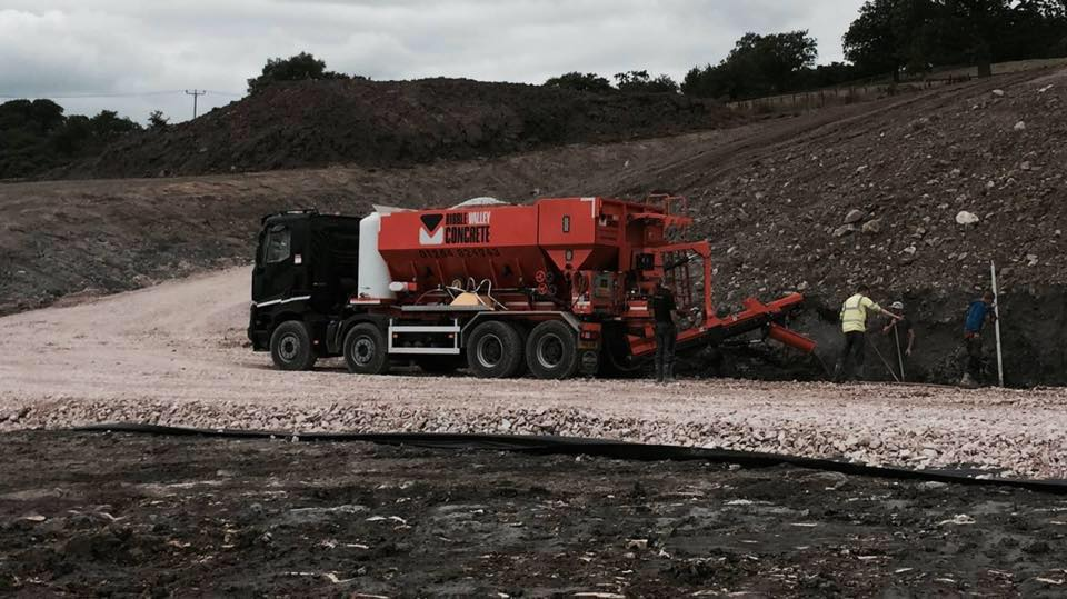 Ready Mix Concrete in Lancashire