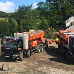 Concrete Delivery by Ribble Valley Concrete
